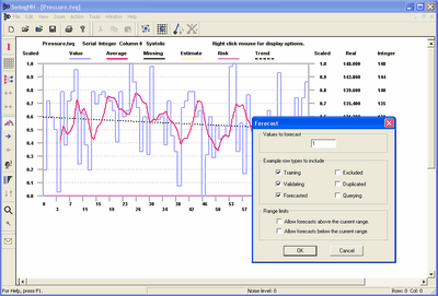 SwingNN makes forecasting and prediction easy. Import data from any file.
